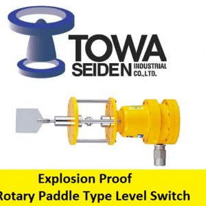 Towa Seiden Explosion Proof Rotary Paddle Type Level Switch